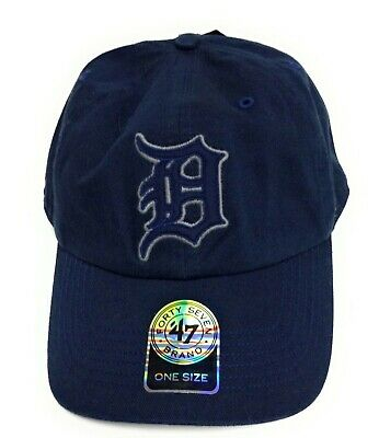 differently 439b2 58ac4 Mens  47 Brand Detroit Tigers One Size Blue Slouch Style MLB Baseball Hat  Cap