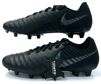low priced 3a86c de363 NIKE TIEMPO LEGEND 7 Academy FG Cleats AO2596 001 Mens Size 7 Black Leather  NS5