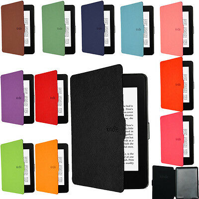 100% Ultra Slim Cover Case For New Kindle Paperwhite 1 2 3 4 (2012-2017) (2018)