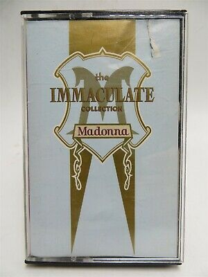 Madonna ♫ The Immaculate Collection ♫ Sire 4-26440 Cassette