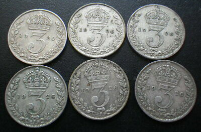 Great Britain George V 1926 Threepence (Fine or Better)