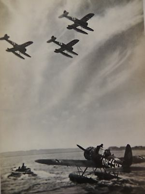 ORIGINAL WW2 WWII German Aircraft Sea Plane Arado 196 Photo