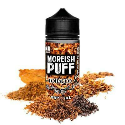Moreish Puff Tobacco Original 100ml (Shortfill)
