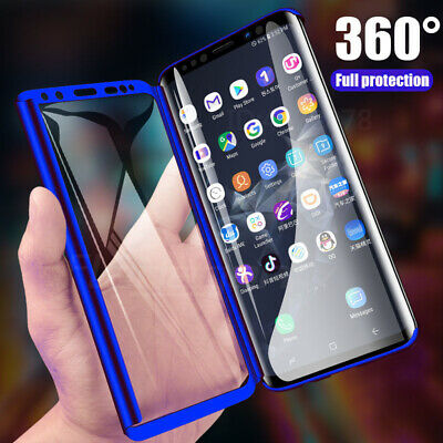 Samsung Galaxy A20e A70 A40 Luxury 360 Degree Full Cover Phone Shockproof Case