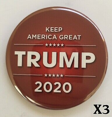 Donald Trump 3 Campaign Button Pack for $5 Special - Button 3009