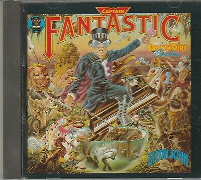 Elton John-Captain Fantastic And The Brown Dirt Cowboy-CD-DJM-Germany