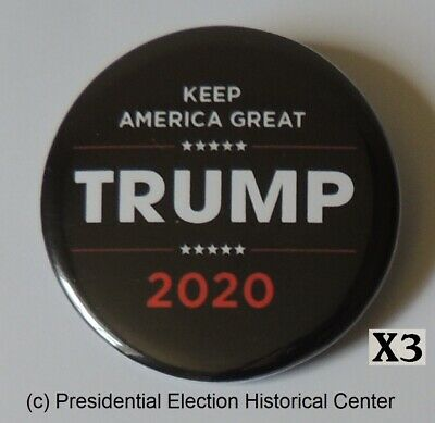 Donald Trump 3 Campaign Button Pack for $5 Special - Button 3016