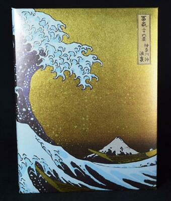 Japanese Photo Stand New in Box Image of Hokusai's The Wave