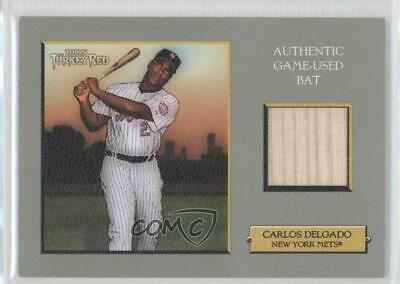 Carlos Delgado 2019 Topps Museum Jumbo Patch Autograph 1315 New
