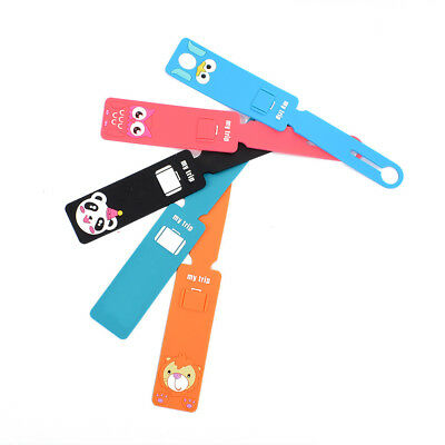 Fashion Silicone Cute Travel Baggage Tags Suitcase Baggage Label Name ID Address