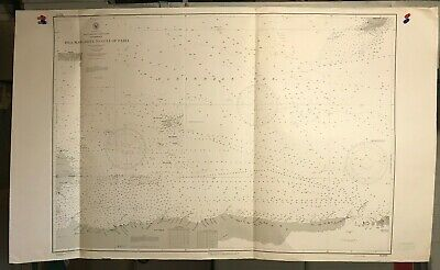 Venezuela Navigational Chart / Hydrographic Map # 5729, South America coast