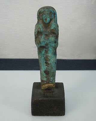 Ancient Egyptian Faience Shabti Figure - 54470