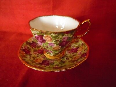 Royal Albert Old Country Roses ***SUPERB  CHINTZ  TEA CUP AND SAUCER.***