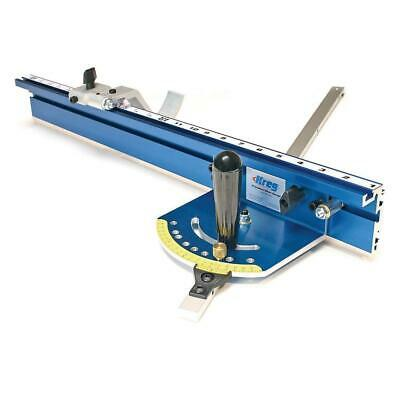 Kreg Precision Miter Gauge System Saw Aluminum Factory Calibrated Tool Accessory