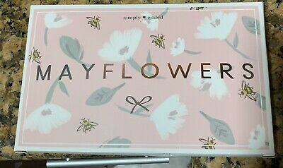 NEW Simply Gilded May Mayflowers 2019 Sub Box washi Foiled bows Desert Dance