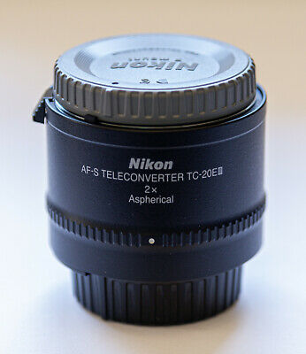 Nikon AF-S TC-20E III Teleconverter lens in EX +++ condition!