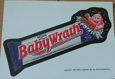 Wacky Packages Halloween Postcard 2011 - Baby Wrath - Philly Non Sports Show