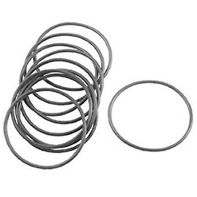 10 x NITRILE WATCH O RING GASKETS  SEALS RUBBER WASHER - 24-27 MM