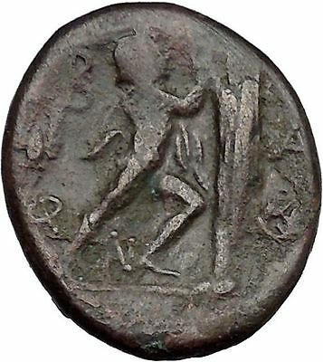 Antigonos II Gonatas Macedonian King Ancient Greek coin Athena PAN Cult  i37458