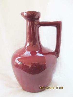 "8.1/2"" UHL Pottery Pitcher Jug Vinaigrette Oil Ewer"