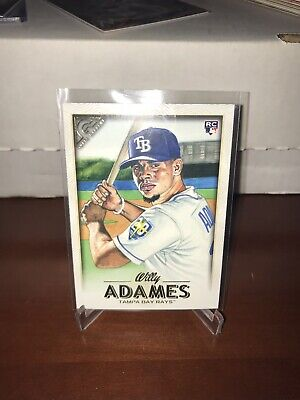 2018 Topps Gallery Baseball #66 Willy Adames RC Tampa Bay Rays