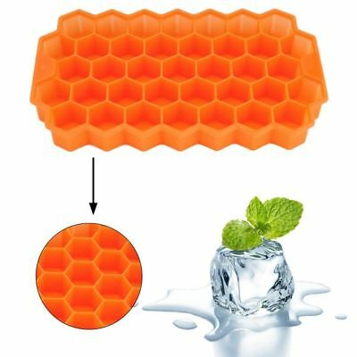 UNIQUE Safe Silicone 37 Ice Cube MAAKER Honeycomb Shape