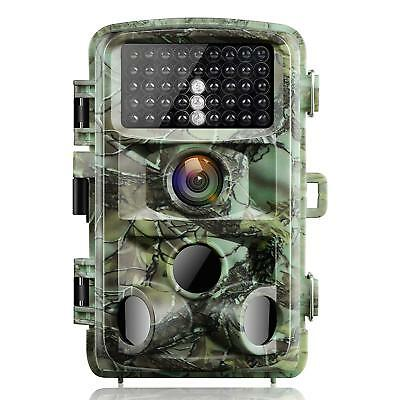1080p 14MP Wildlife Hunting Trail Scouting Game Camera Night Vision 0.3s Trigger
