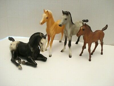 Vintage Breyer Horses Set of 4 Foals # 16, # 220, # 6, # 165