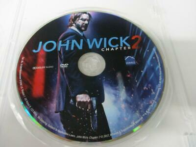 John Wick Chapter 2 (DVD, 2018) 1-Disc NO CASE Never Viewed FAST SHIPPING