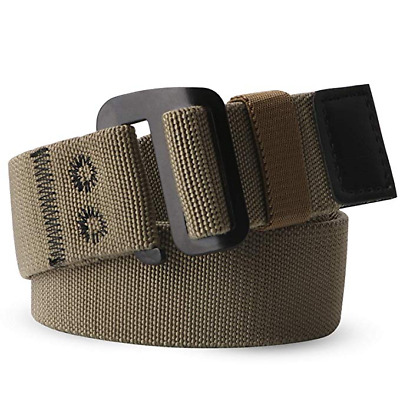 JASGOOD Men Elastic Belt for Outdoor Golf hiking fishing Up to Pants Size 40''