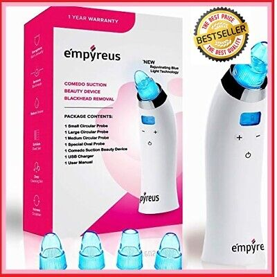 Pore Vacuum Blackhead Remover Kit for Face Nose | Electric Facial Pore Cleaner