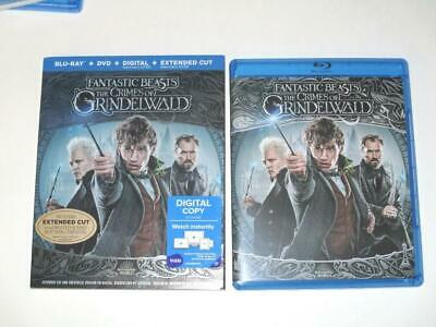 Fantastic Beasts The Crimes Of Grindelwald (Blu-ray Disc, 2018) 1-Disc NO CASE