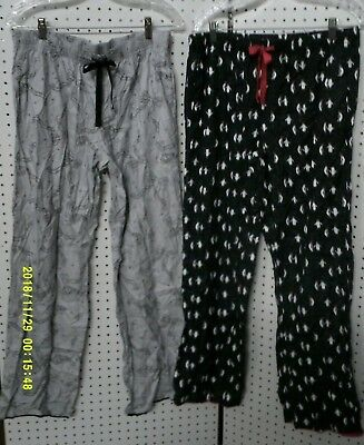 New Victorias Secret Flannel Sleep / Lounge  Pants - Penguins or Bows XS, M, L