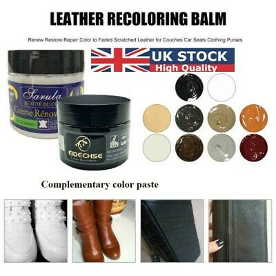 Repair Cream Leather Dye Colour Repair Restorer for Faded and Worn Leather Sofa
