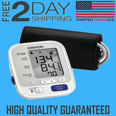 Automatic Digital Arm Cuff Blood Pressure Monitor Heart Beat Rate Pulse Meter