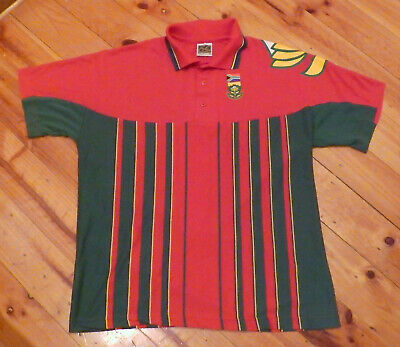 Vintage Isc South Africa One Day Medium Cricket Shirt