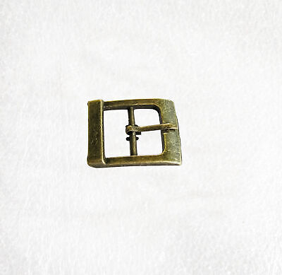 Rustic Rectangle shaped Antique Brass Buckles for 20mm wide straps