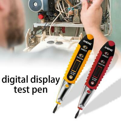 Voltage Electrical Test-Pen Detector Tester Electrician LCD-Display For