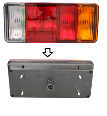 1x LAMPE FEU ARRIERE DROIT IVECO DAILY III 1907701 .