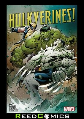 HULKVERINES GRAPHIC NOVEL New Paperback Collects 3 Part Series + more