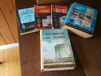 Lot of ARRL Radiotelegraph/antenna/radio amateur books