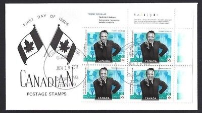 Canada   # 2557   TOMMY DOUGLAS SPECIAL EVENT CACHET       New 2012 Unaddressed