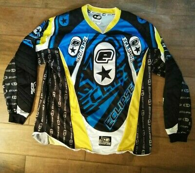 Planet Eclipse Paintball Jersey Large Blue