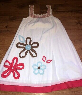 GIRLS MINI BODEN Longer Length Summer DRESS SIZE YOUTH 5-6 SUPER CUTE!