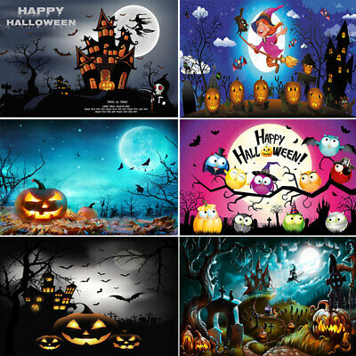 Halloween Backdrop Photography Background For Halloween Party Studio Photo Props