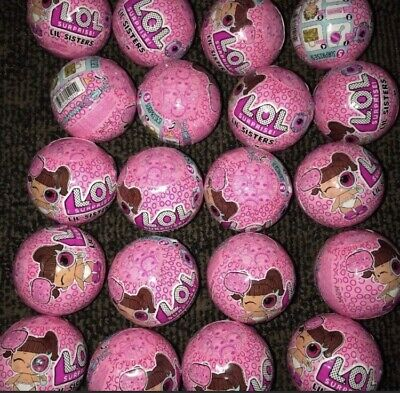LOL SURPRISE Doll LIL SISTERS  lot of 24 Balls Little Sister NEW