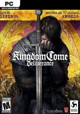 Kingdom Come: Deliverance Royal Edition Steam Key kein DVD Versand