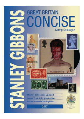 Stanley Gibbons Great Britain Concise Stamp Catalogue 2017