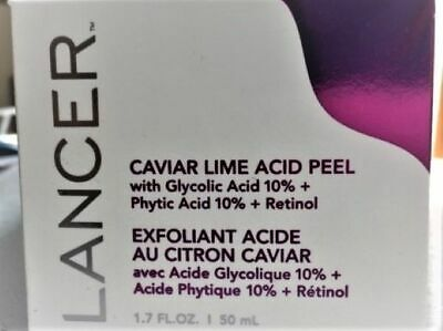 Lancer Skincare Caviar Lime Acid Peel (1.7 oz.) New