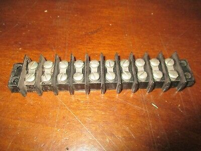 Car Ford Chevy Mopar Terminal Wire Connection 10 lug  Block 50's 40's 30's